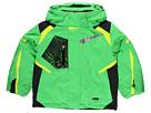 Spyder Kids - Mini Leader Jacket (Toddler/Little Kids) (Classic Green/Black/Sharp Lime) - Apparel