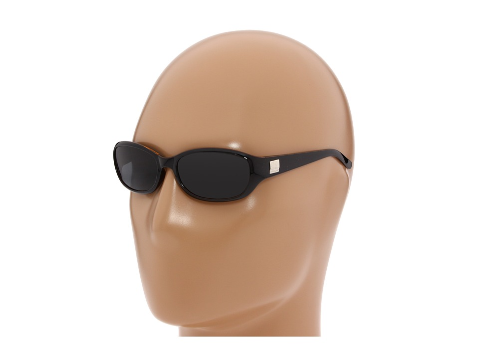 SunCloud Polarized Optics Iris Black Backpaint/Gray Polarized Lens Sport Sunglasses