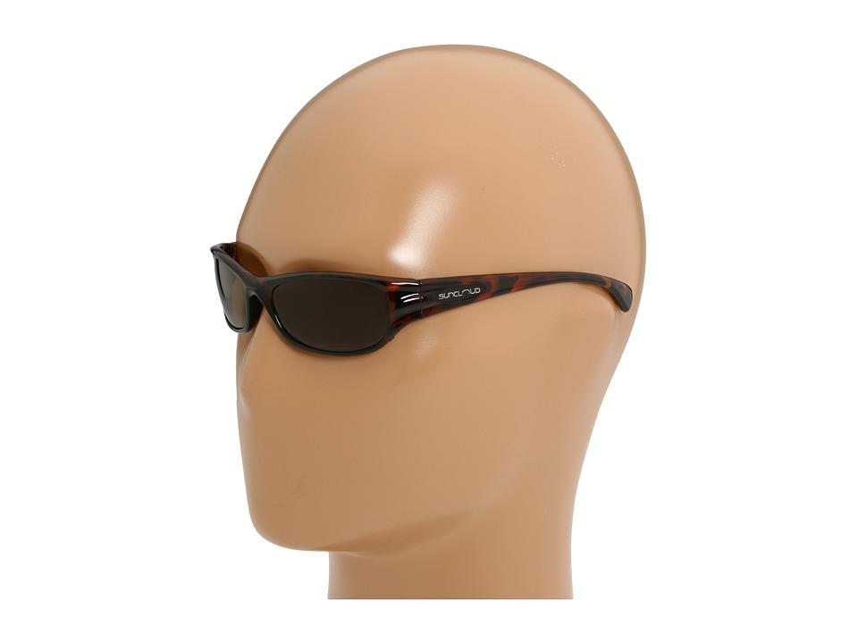 SunCloud Polarized Optics Star Tortoise/Brown Polarized Lens Sport Sunglasses