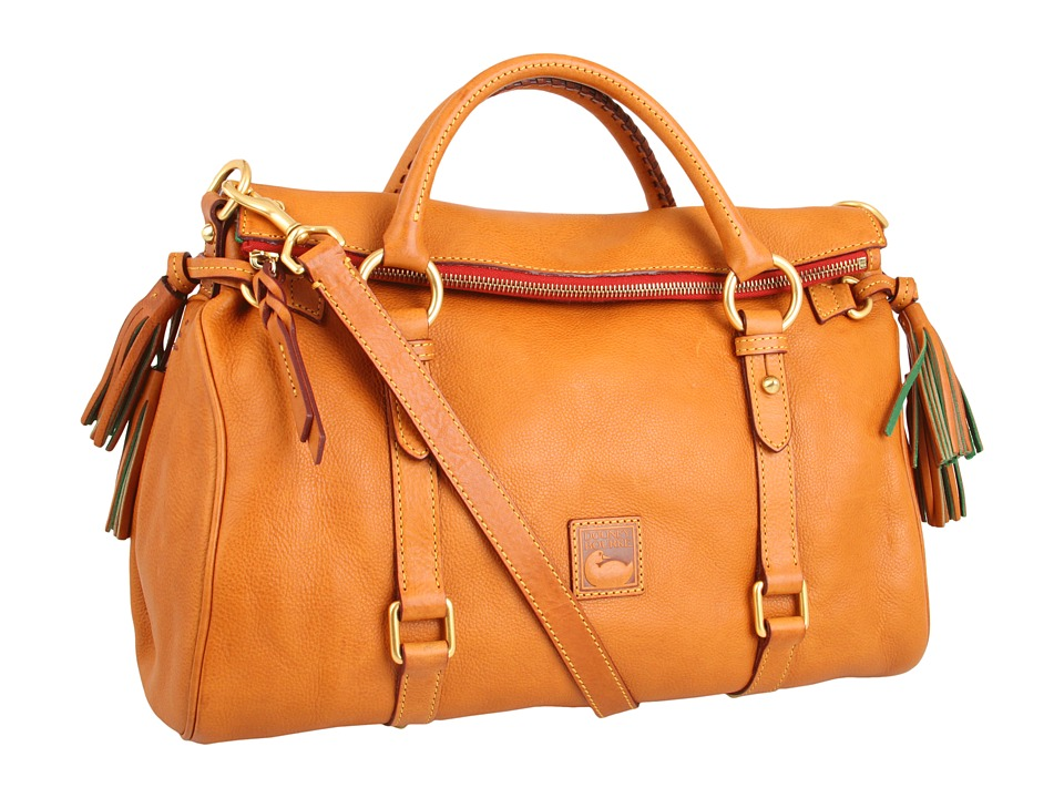 Dooney & Bourke - Florentine Vachetta Satchel (Natural) Handbags