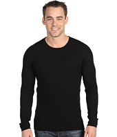 John Varvatos - L/S Striped Crewneck Sweater