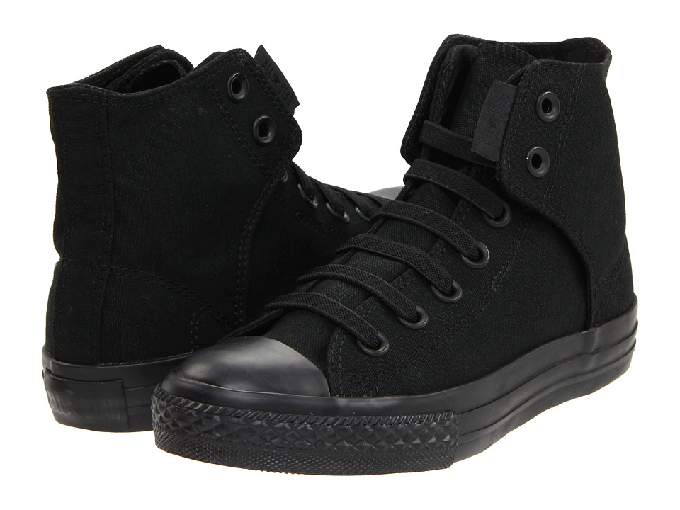Converse Kids - Chuck Taylorreg All Starreg Easy Slip (Little Kid/Big Kid) (Mono Black) Boys Shoes