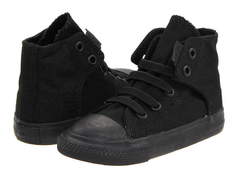 Converse Kids Chuck Taylor All Star Easy Slip (Infant/Toddler) (Mono Black) Kids Shoes