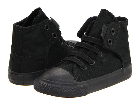 Converse Kids Chuck Taylor® All Star® Easy Slip (Infant/Toddler) - Mono Black
