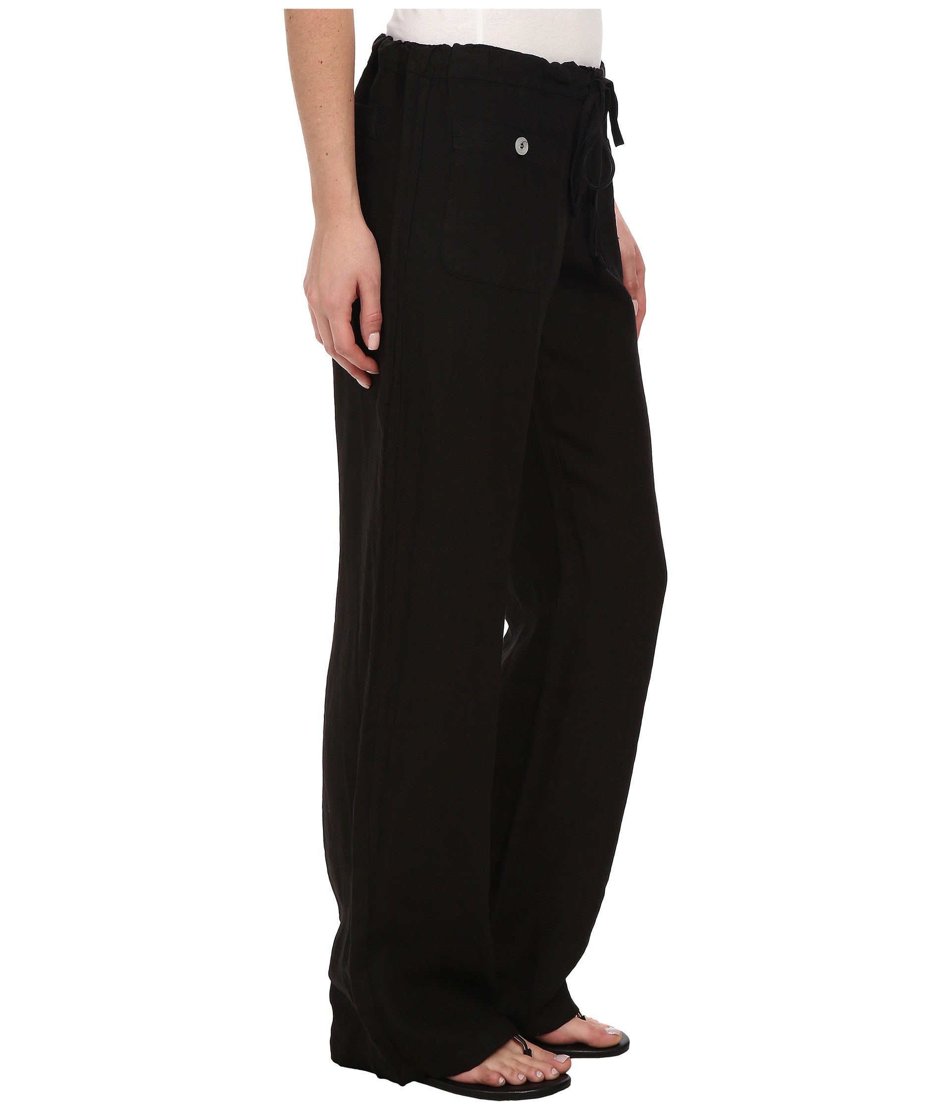 Allen Allen Linen Long Pant Ll9497 At Zappos Com