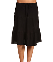 Allen Allen - Knee Length Tier Skirt