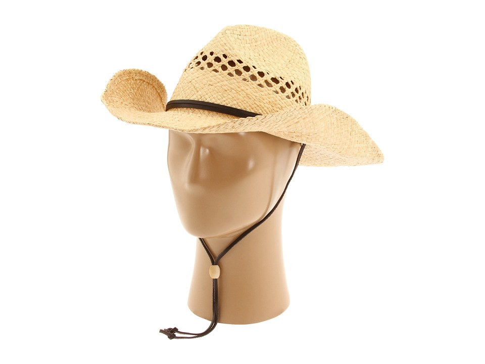 San Diego Hat Company - RHC Cowboy Hat (Natural) Traditional Hats