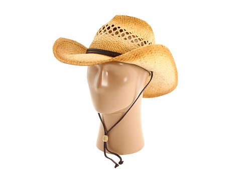 San Diego Hat Company RHC Cowboy Hat - Tea Stain