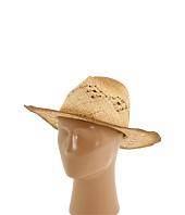 San Diego Hat Company - RHC1020 Raffia Cowboy Hat with Macramae