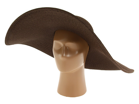 San Diego Hat Company UBX2535 Ultrabraid XL Brim Sun Hat - Chocolate