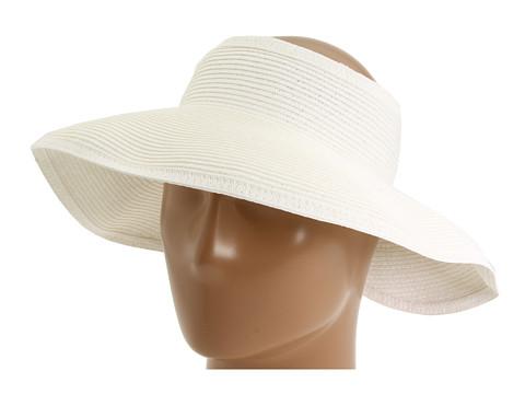 San Diego Hat Company UBV002 Sun Hat Visor - White