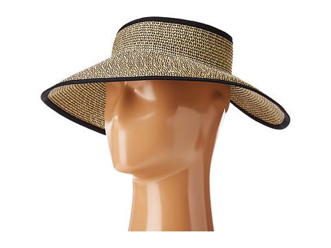San Diego Hat Company UBV002 Sun Hat Visor - Mixed Black