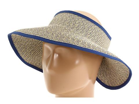 San Diego Hat Company UBV002 Sun Hat Visor - Mixed Blue