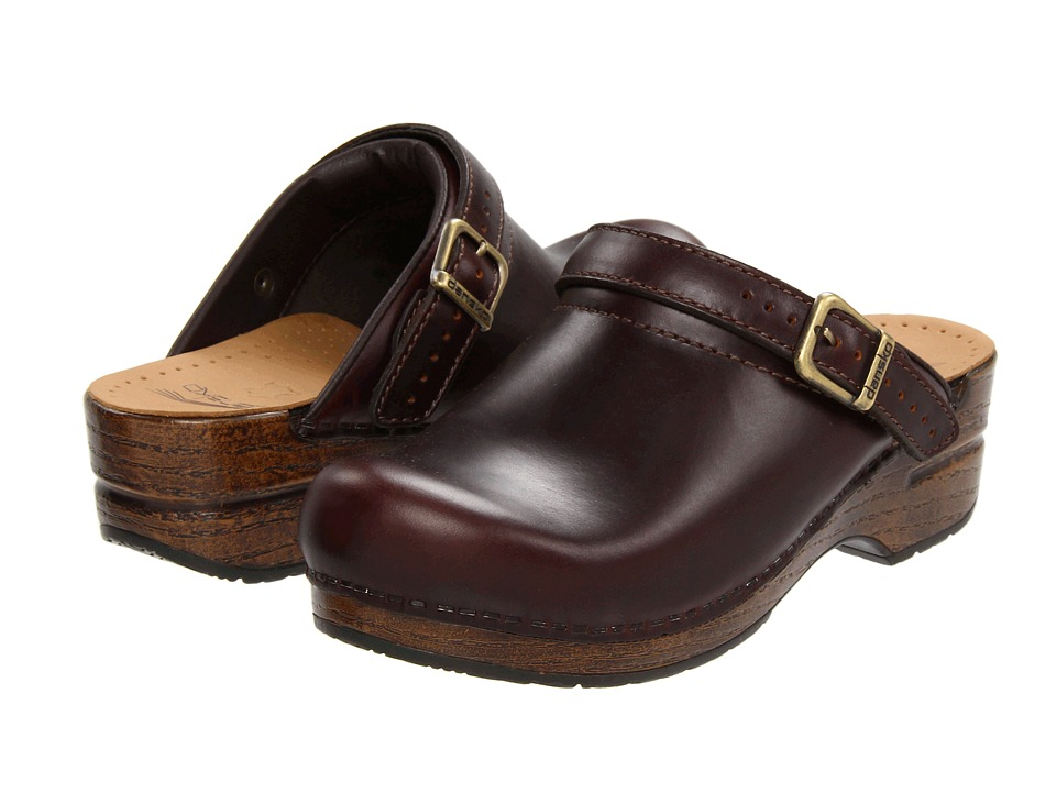 Dansko Ingrid Espresso Oiled Full Grain Womens Clog Shoes