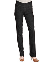 Jag Jeans - Peri Pull-On Straight in Black Rinse