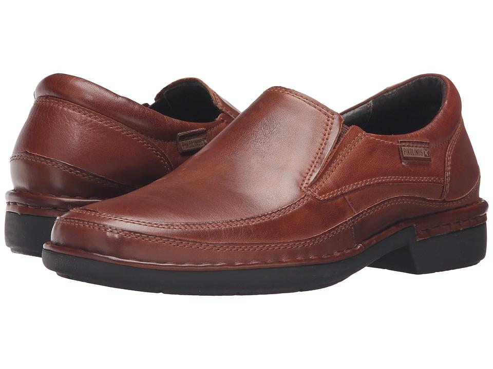 Pikolinos - Oviedo 08F-5017 (Cuero) Mens Slip-on Dress Shoes
