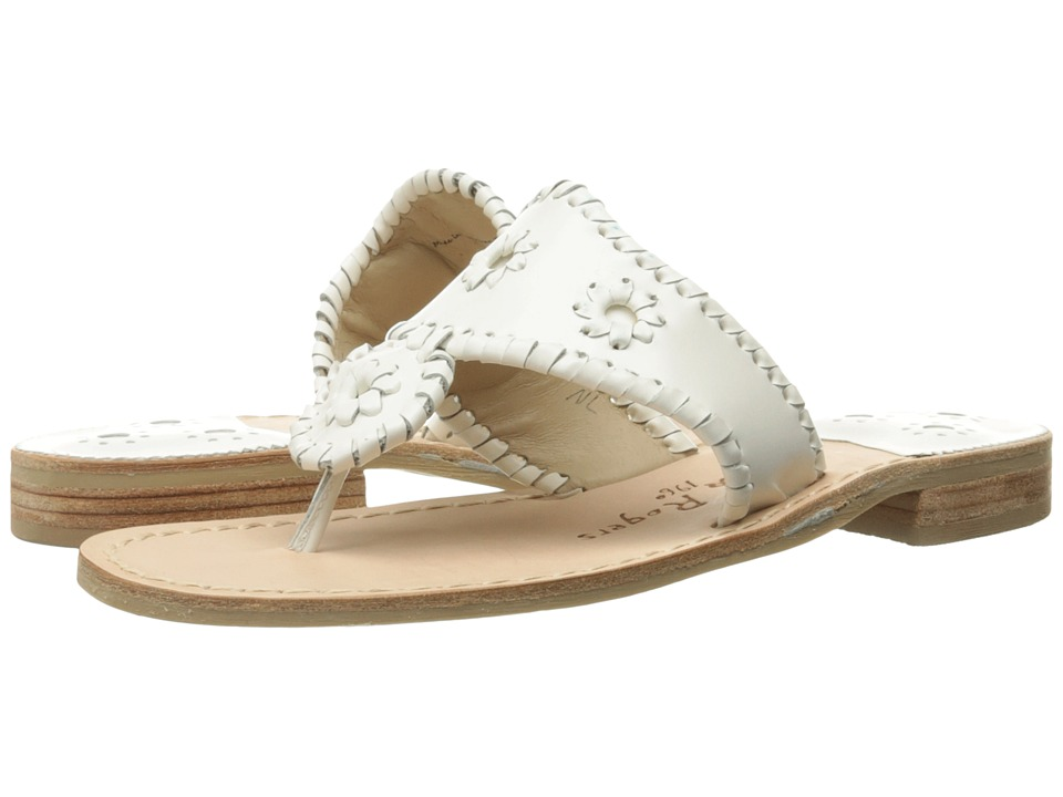Jack Rogers Palm Beach (White) Sandals