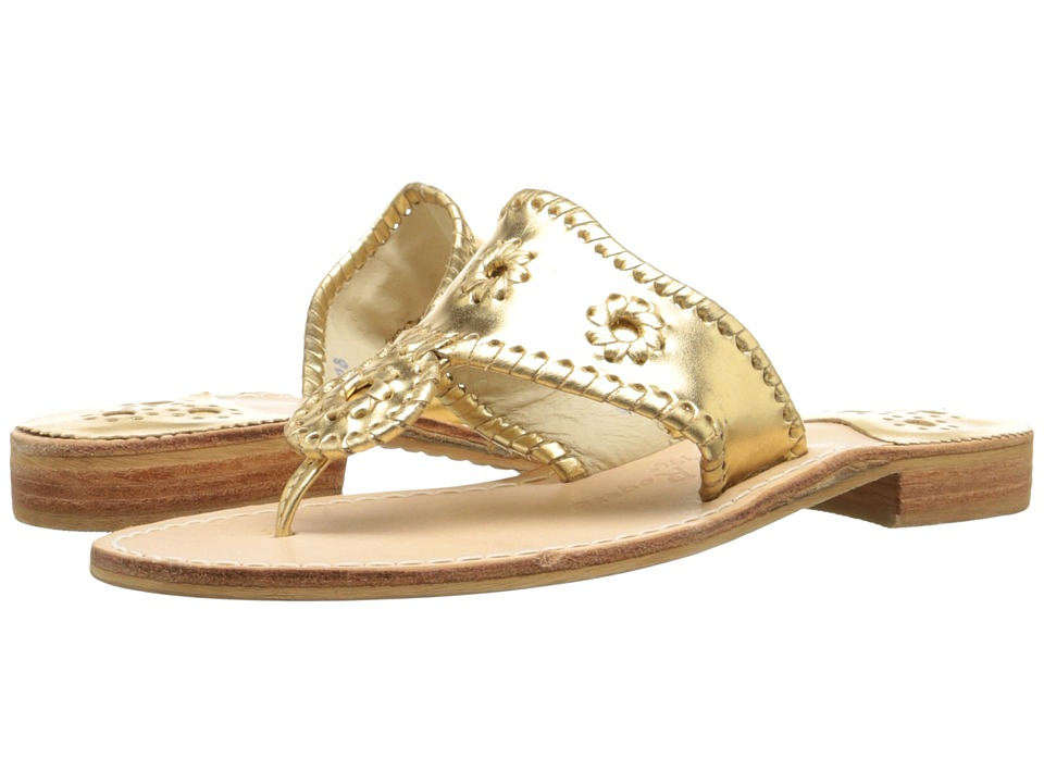 Jack Rogers - Hamptons Classic (Gold) Womens Sandals