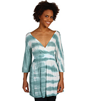 Green Dragon - Seaview Wash V Tunic W/ Bell Sleeves
