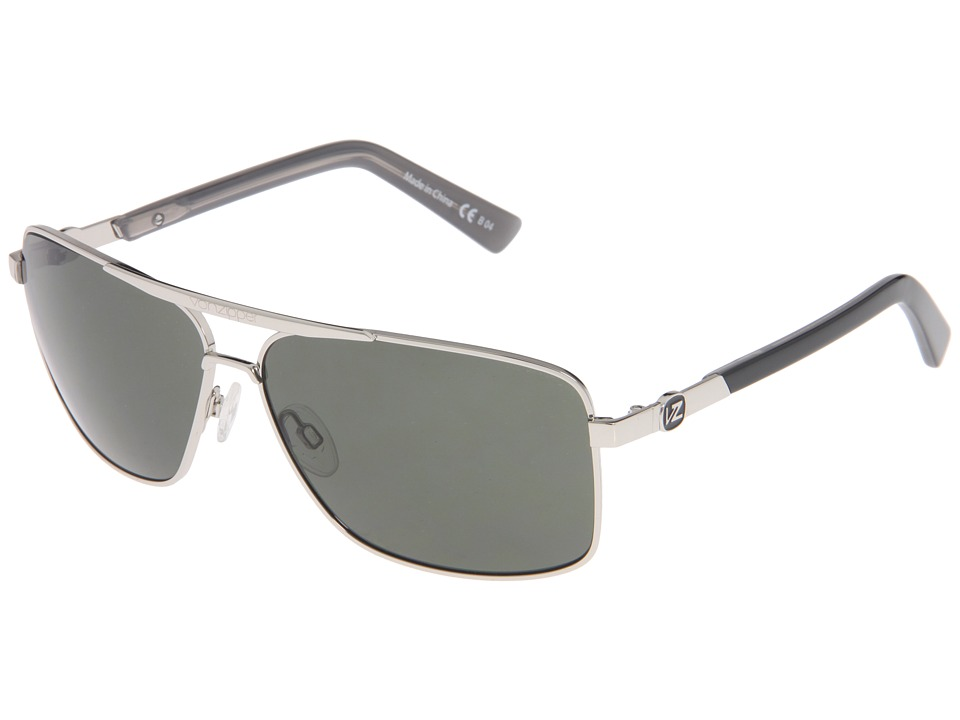 VonZipper - Metal Stache (Silver/Grey) Sport Sunglasses
