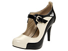 Lumiani - Alondra (Cream/Black Patent) - Footwear