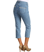Miraclebody Jeans - Daisy Chain Crop Jean in Palm Beach Wash