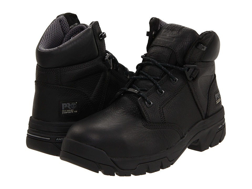 Timberland PRO - Helix 6 Waterproof Composite Toe (Black)...