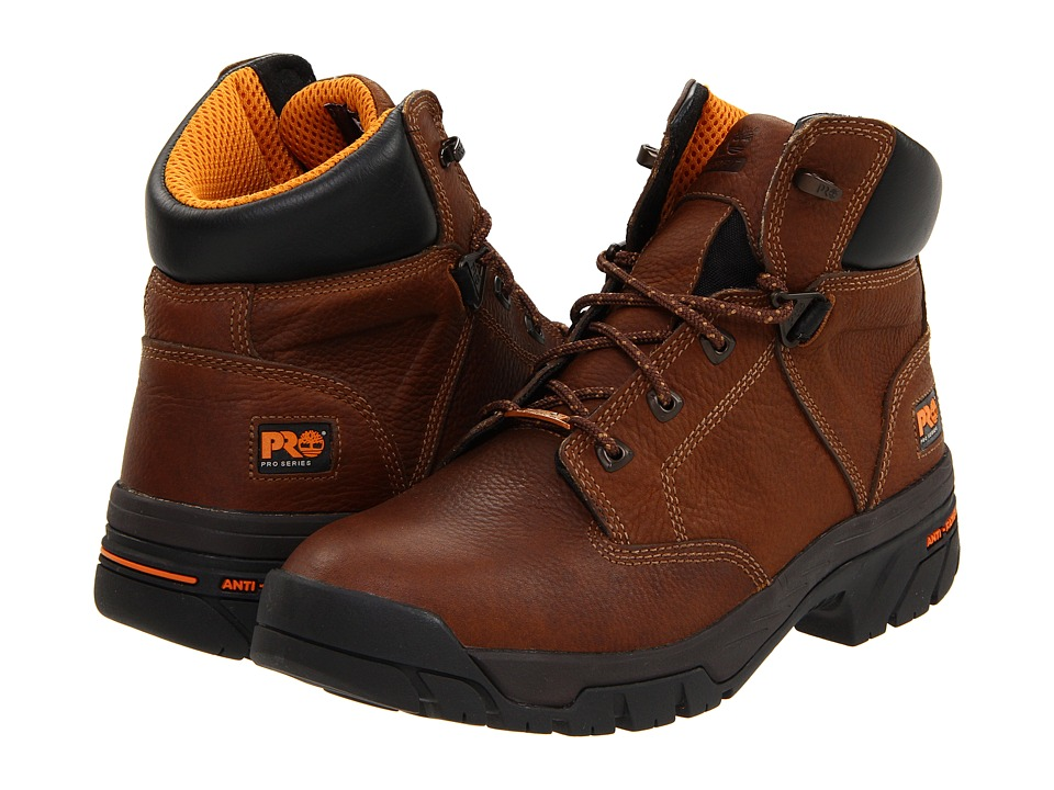 Timberland PRO Helix 6 Waterproof Soft Toe (Brown) Men