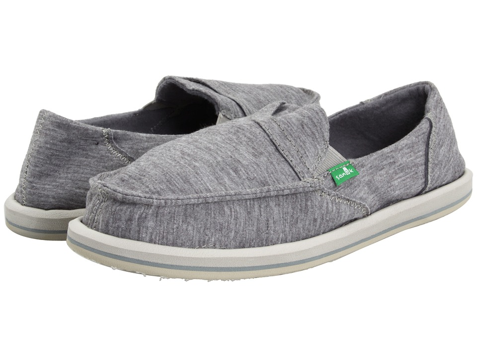 Sanuk - Pick Pocket Fleece (Light Grey) Women