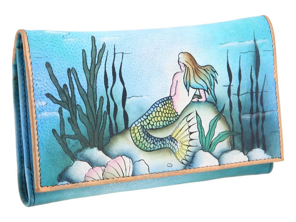 Anuschka Handbags - 1042 (Little Mermaid) Wallet Handbags