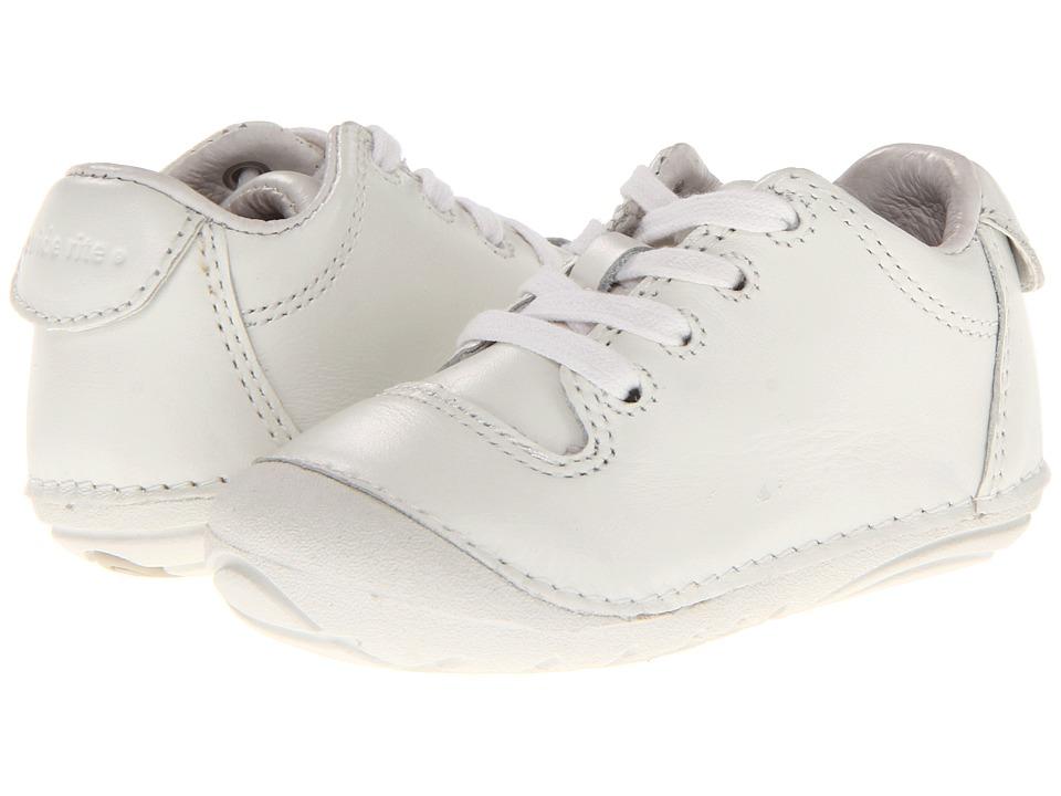 Stride Rite - SRT SM Freddie (Infant/Toddler) (White) Boys Shoes