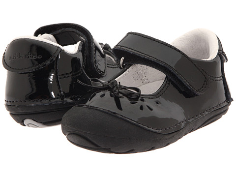 Stride Rite SRT SM Jane (Infant/Toddler) - Black Patent