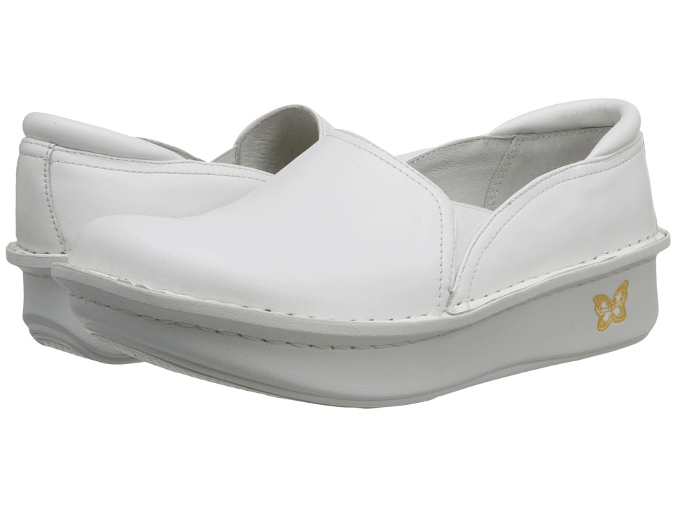 Alegria Debra Professional (White Tumble Leather)