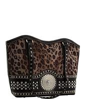 M&F Western - Blazin Roxx Faux Croc Bag