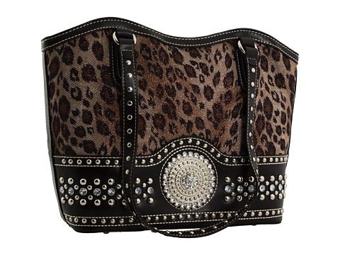 M&F Western Blazin Roxx Faux Croc Bag