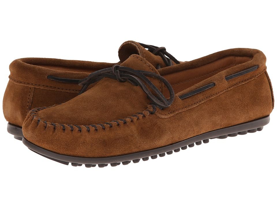 Minnetonka Classic Moc (Dusty Brown Suede) Men