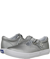 Keds Kids - Daphne T-Strap Silver (Toddler/Little Kid)