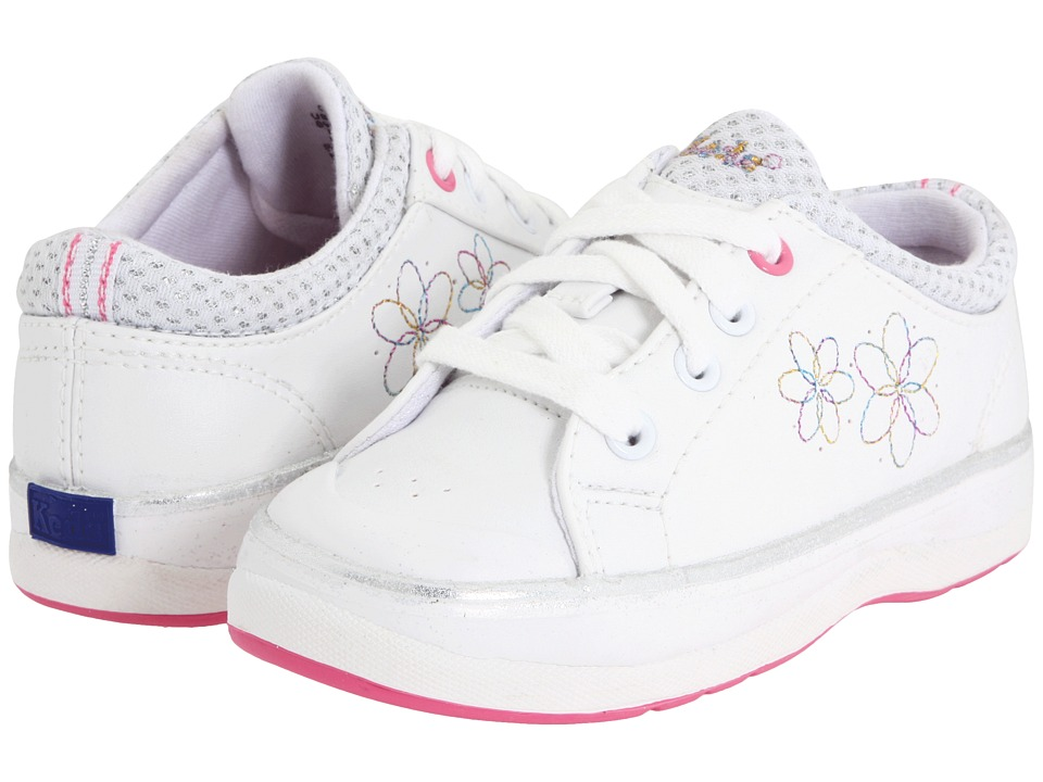 Keds Kids Charlotte Toddler White Girls Shoes