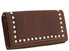 American West Bandana Flap Wallet (Chocolate)