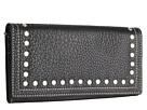 American West Bandana Flap Wallet (Black)