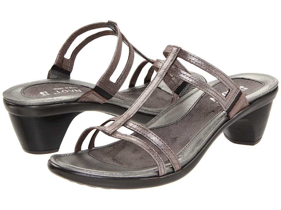 Naot Footwear Loop (Silver Threads Leather) Sandals
