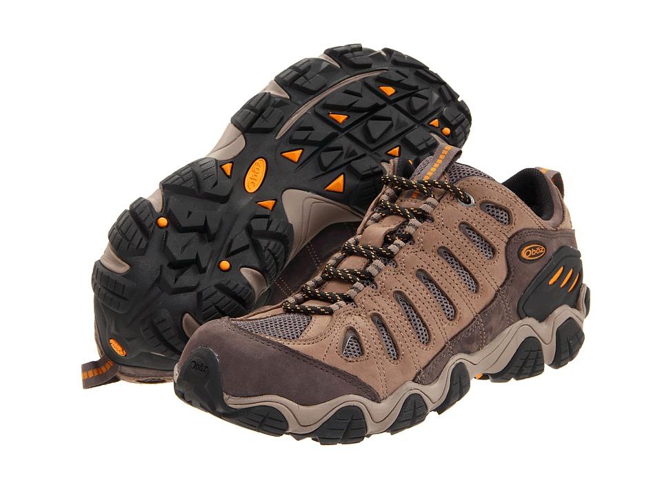 Oboz Sawtooth Low BDry Walnut Mens Shoes