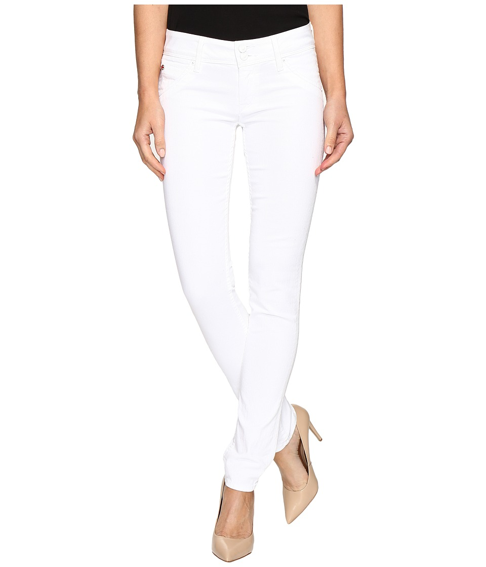 Hudson - Collin Flap Skinny in White