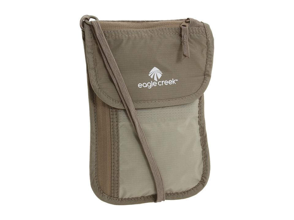 Eagle Creek - Undercover Neck Wallet Deluxe (Khaki) Wallet