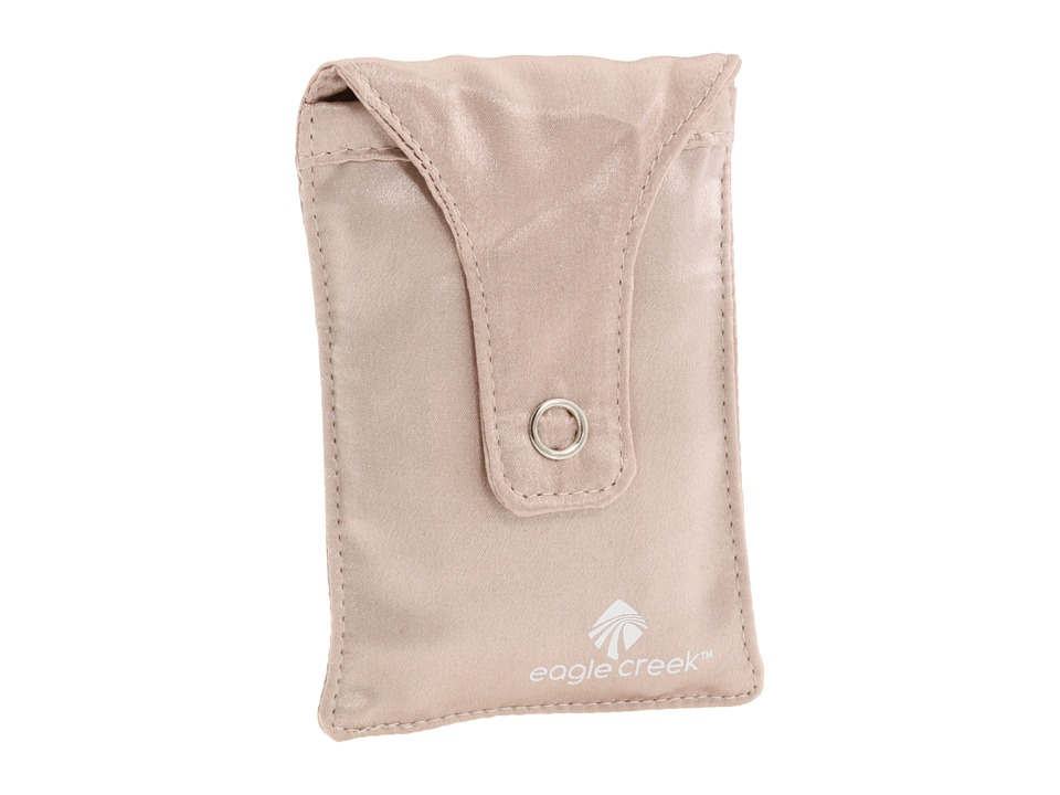Eagle Creek - Silk Undercover Bra Stash (Rose) Travel Pouch