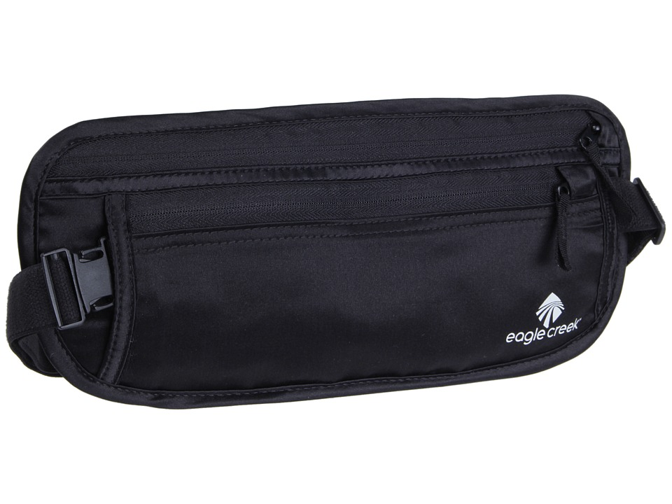 Eagle Creek - Undercover Silk Money Belt (Black) Luggage