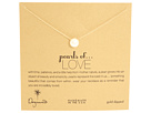 Dogeared Pearls of Love Necklace