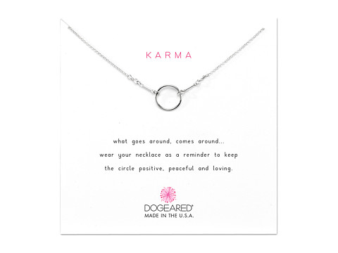 Dogeared Karma Necklace 16 inch - Sterling Silver