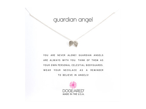 Dogeared Guardian Angel Reminder Necklace - Sterling Silver