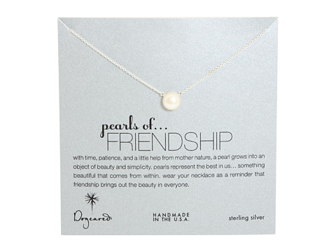 Dogeared Pearls of Friendship Necklace